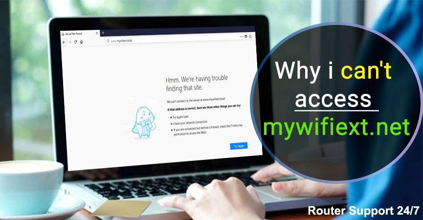 not working mywifiext.net
